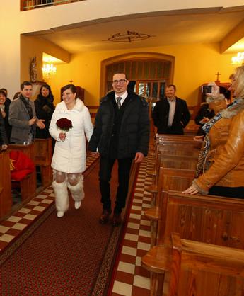 Ślub w porze zimowej