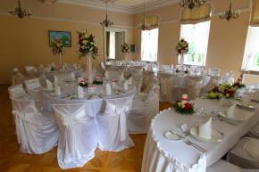 Aranżacja stołu weselnego