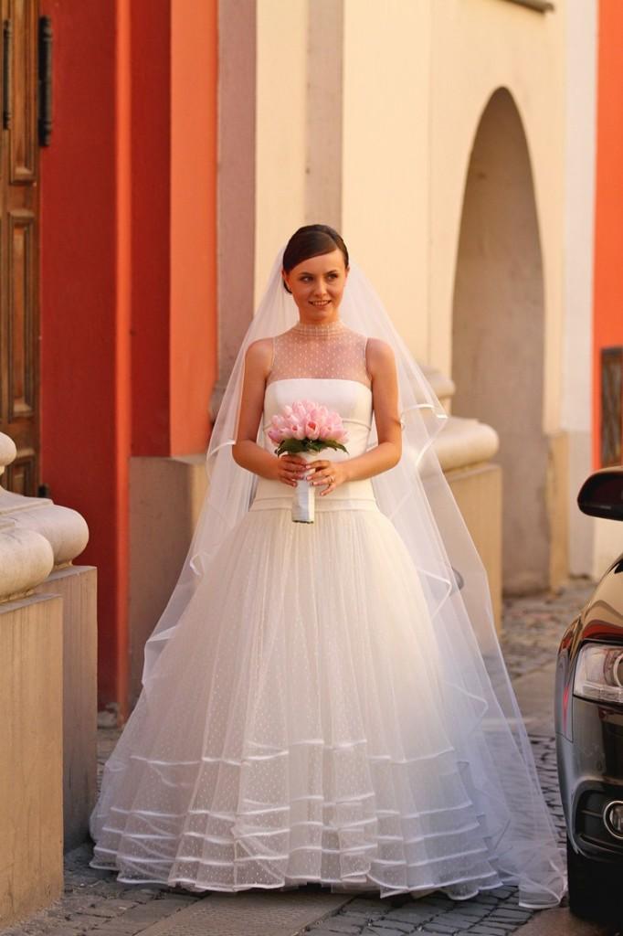 Krój sukni ślubnej