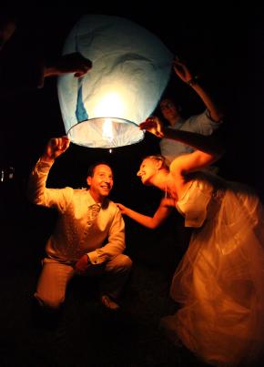 Puszczanie lampionów