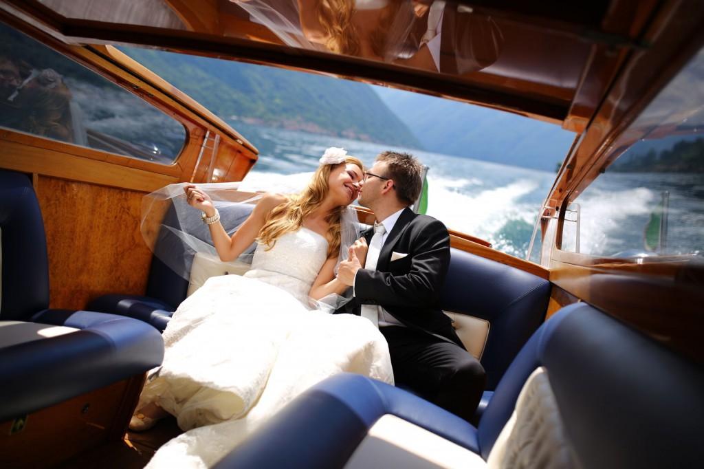Plener ślubny nad jeziorem Como